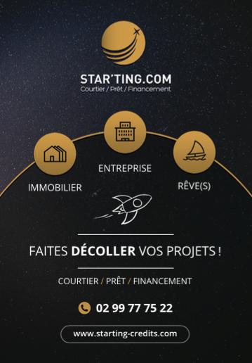 Starting Credits - Starting crédits - courtier à Rennes pour vos prêts immobiliers, rachat de prêt ou assurance de prêts entreprise